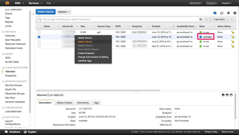 AWS extend disk volume on an EC2 instance | Js' Technical Blog